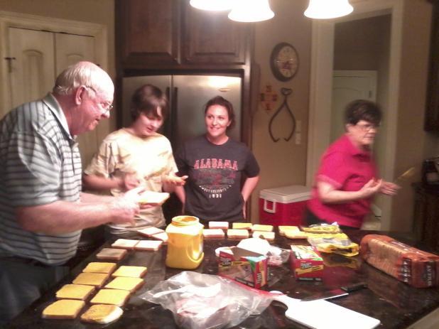 sandwichmaking